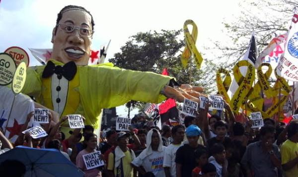 protest Aquino SONA
